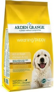 Arden Grange Weaning/Puppy rich in fresh chicken 15 kg