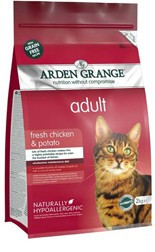 Arden Grange Adult Cat: fresh chicken & potato - grain free 2 KG
