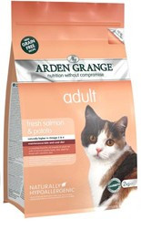 Arden Grange Adult Cat: fresh salmon & potato - grain free 2 KG